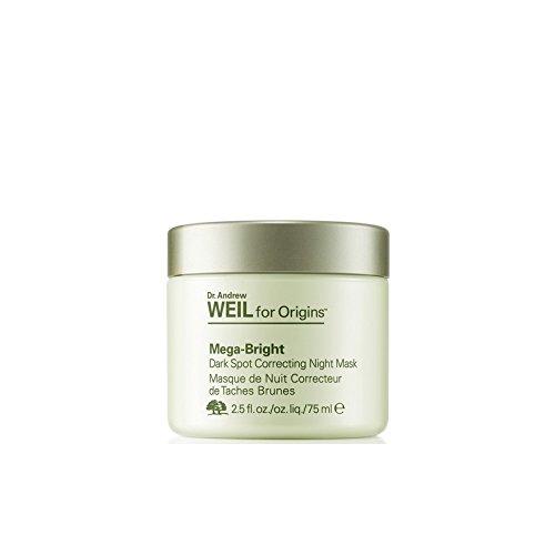 起源アンドルーワイル一晩マスク75ミリリットルを修正メガ明るい肌のトーン起源について x4 - Origins Dr. Andrew Weil For Origins Mega-Bright Skin Tone Correcting Overnight Mask 75ml (Pack of 4) [並行輸入品] B07116YMTN