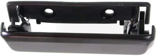 Evan-Fischer EVA18772058880 Exterior Door Handles for Set of 2 Front Left and Right Side Metal Smooth Black