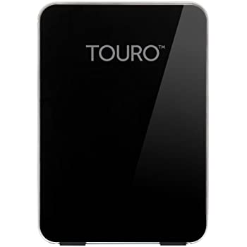 HGST Touro Desk Pro 4 TB USB 3.0 External Hard Drive, Piano Black (0S03503)