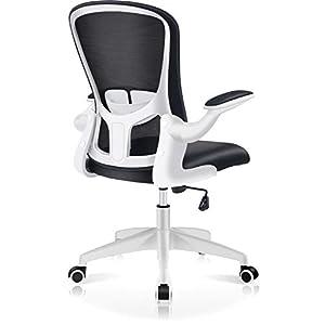 FelixKing オフィスチェア デスクチェア 疲れない椅子 メッシュ コンパクト 跳ね上げ式アームレスト