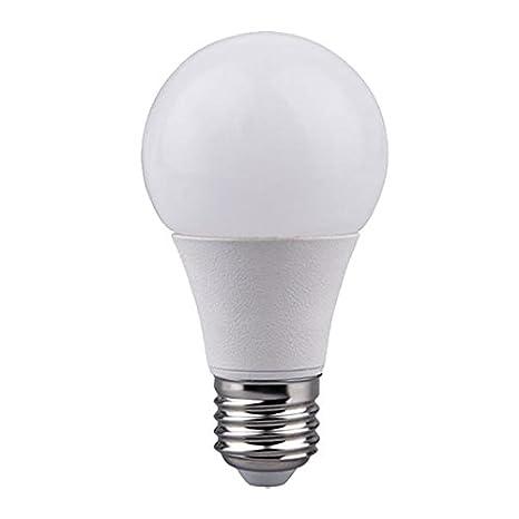 Bombilla LED esférica E27 RaydanHome 15795, 7W equivalente a 50W, 270º, 4000K, blanco neutro, 600 lúmenes, no regulable. [Eficiencia Energética A+]: ...