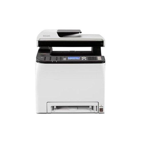 Ricoh Copier Fax Machines (Ricoh 407525 SP C252SF Laser Multifunction Printer - Color - Plain Paper Print - Desktop - Copier/Fax/Printer/Scanner - 21 ppm Mono/21 ppm Color Print - 2400 x 600 dpi Print - 20 cpm Mono/12 cpm Color)