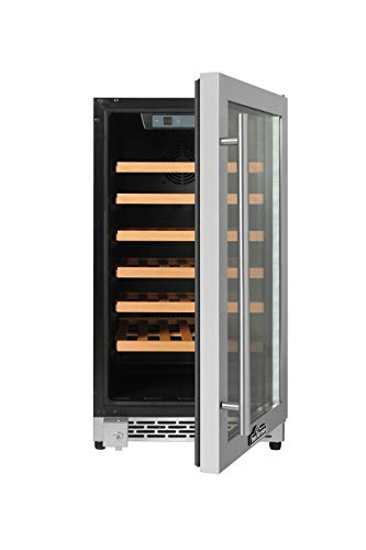Thorkitchen HWC2405U 40 Bottles 18'' Built-in Wine Cooler, stainless steel by Thor Kitchen (Image #2)