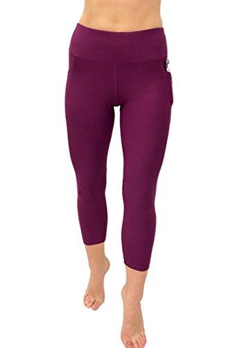 deb7e4bab7470e 90 Degree By Reflex Women's High Waist Athletic Leggings - Import It ...