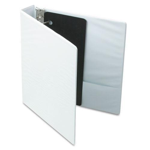CARDINAL Brands INC 17400 XtraValue ClearVue Slant-D Ring Binder, 1-1/2quot, White