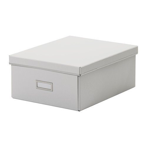 Exceptionnel A4 Paper Storage Boxes With Lid (Width 27cm X Depth 35cm X Height 15cm)  White   Pack Of 4: Amazon.co.uk: Kitchen U0026 Home