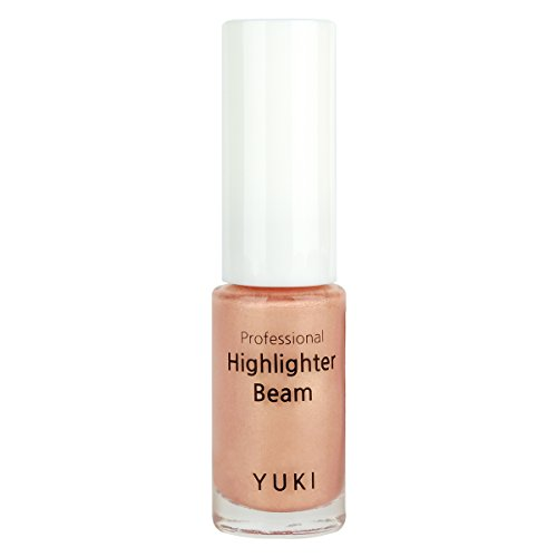 Highlighter Beam by YUKI | Radiant Shine on Your Face with Strobe Makeup 0.17oz/5ml (08 Rose Gold)