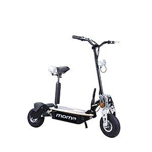 """31Go9nE%2BysL. SS300 Moma Bikes 8436578262175, Monopattino Elettrico Pieghevole da 2100 W, Ruote da 10"""", 42 H, Autonomia 25 Km Unisex – Adulto, Nero, Taglia Unica"""