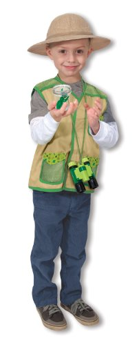 Melissa & Doug Backyard Explorer Role Play Costume Set With Binoculars, Bug Jar, and Hat