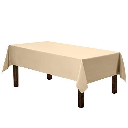 Beige Tablecloth - Gee Di Moda Rectangle Tablecloth -