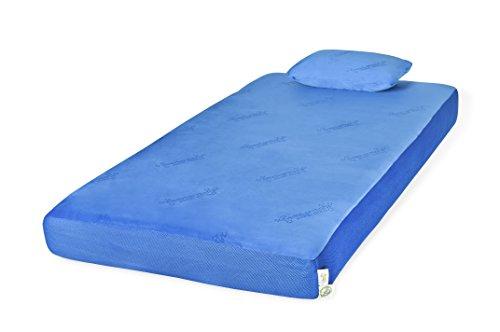 Glideaway Youth Memory Foam Mattress – Full, Blue