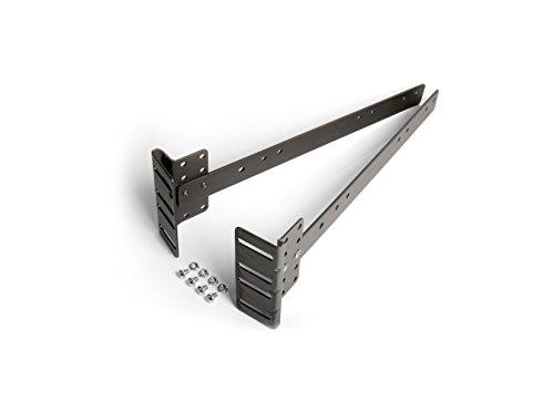 Mantua A- A-EXT Footboard Extension Brackets, Dark - Brackets Ext