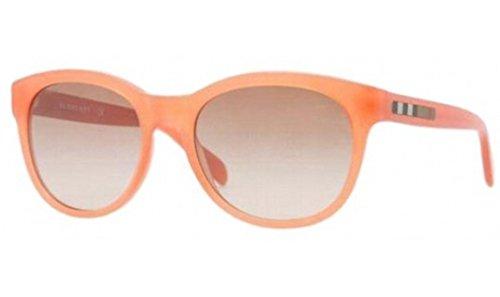 Burberry BE4132 Sunglasses-3366/13 Orange (Brown Gradient Lens)-53mm