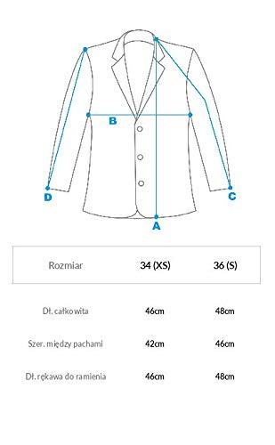 Jacket 34 Guess W61L11W76Y0 Blouson IT38 Brid Brid xvgBUqHwB