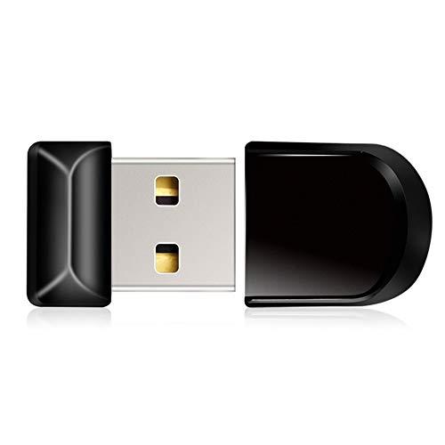 Super Mini USB Flash Drive Waterproof 4gb 8gb 16gb 32gb 64gb Pendrive USB 2.0 Black