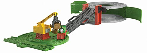 Fisher-Price Thomas & Friends Take-n-Play, Percy at The Scrapyard (Thomas Yard & Scrap Friends)