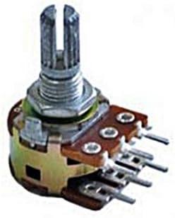 5 x 20K 20KA A20K OHM Logarithmic Taper Potentiometers