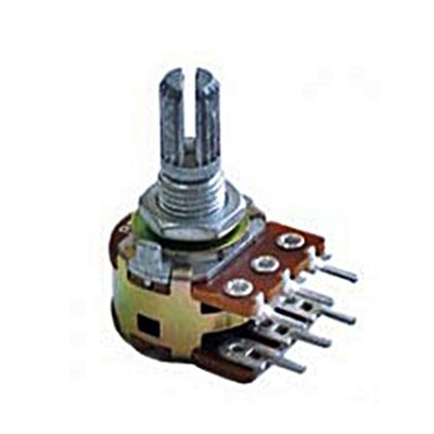 1 pc of 20K OHM Linear Dual Taper Rotary Potentiometers for sale  Delivered anywhere in USA