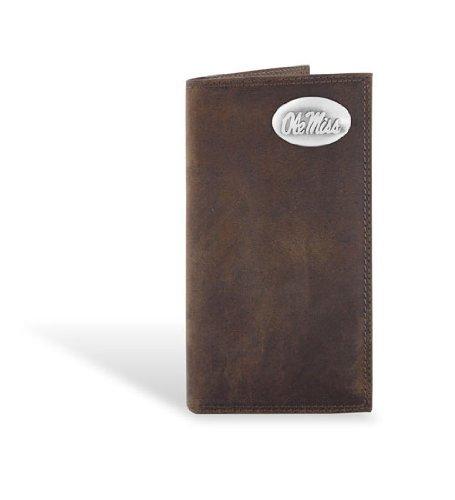 Mississippi Leather Crazy Horse Brown Long Roper (Brown Long Roper Wallet)