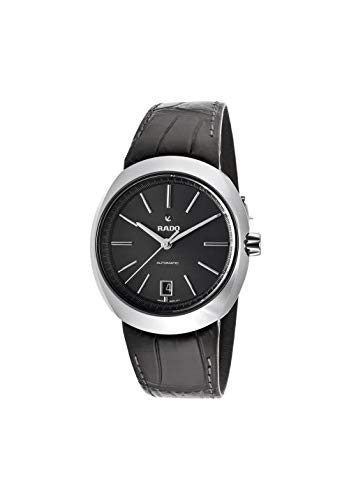 Rado D-Star Automatic Black Dial Men's Watch R15762175 (Watch Men Leather Rado)