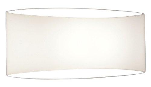 Holtkotter White Sconce - Holtkoetter 8502 WH Voila Wall Sconce, White