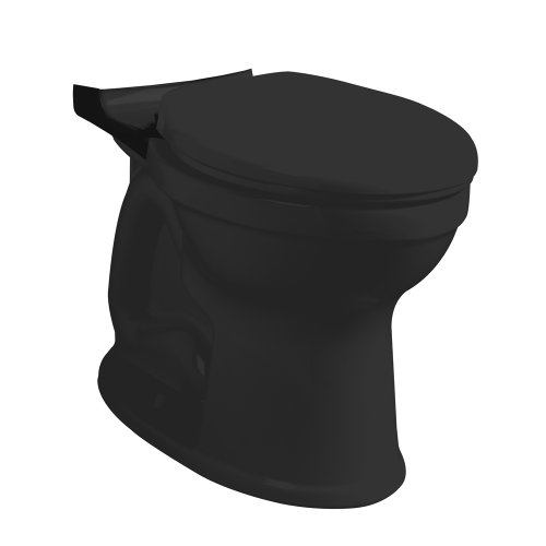 American Standard 3395A001.178 Champion-4 HET Right Height Elongated Toilet Bowl, (Elongated Black Bidet)