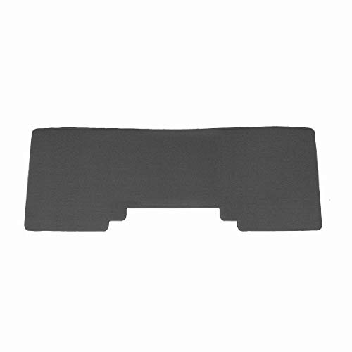 Brightt (MAT-XJZ-536) 1 Pc 2nd Seat Car Floor Mat - Grey - compatible for 2011-2014 Ford Edge (2011 2012 2013 2014 | 11 12 13 14)