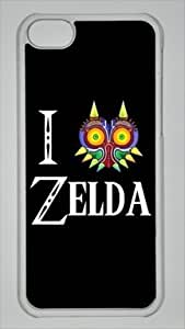 Majora's Mask The Legend of Zelda Custom PC Transparent Case for iPhone 5C by icasepersonalized