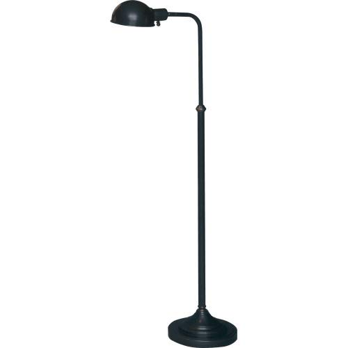 Kinetic Swing Arm (Robert Abbey Z1505 Lamps with Metal Shades, Deep Patina Bronze Finish)