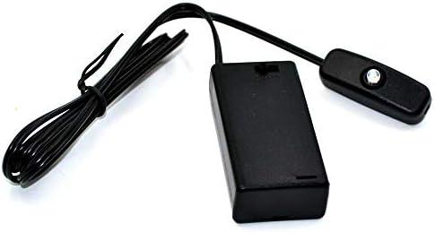 簡易 カーセキュリティー かんたん設置・めんどうな配線不要 単三電池2個(3V)で稼動 ダミーセキュリティー 赤色 点滅 ダミーLED スイツチ付き