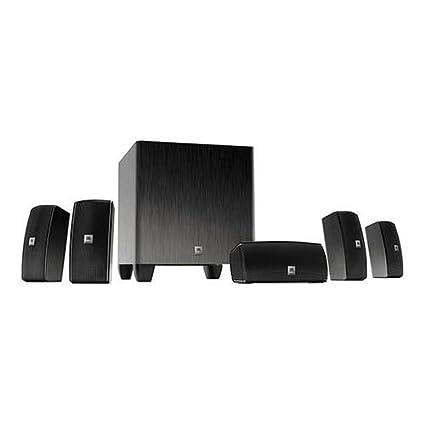 amazon com jbl cinema 610 advanced 5 1 home theater speaker system home audio subwoofers jbl cinema 610 advanced 5 1 home theater speaker system with powered subwoofer