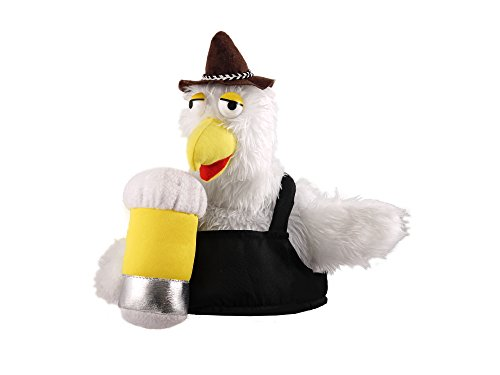 Mens Ladies Bird Beer Hat for German Bavarian Oktoberfest Festival
