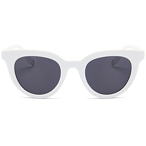 CHBC New Fashion Colorful Retro Personality Cat Eye Sunglasses Small Framed Sunglasses - Glasses Framed Small