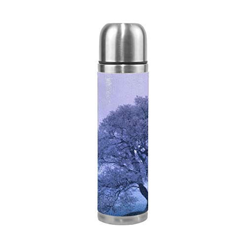 - Oximing Customize Oriental Spring Fantasy Art Wallpaper Thermal Insulating Stainless Steel Insulating Cup, 14 Oz Travel Cup