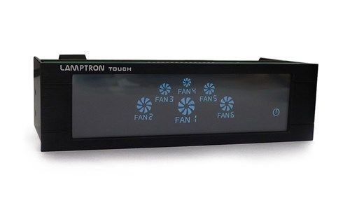 Lamptron FC-FCT-B FC Touch 6 Channel 30W Aluminum Rheobus with Touch Screen - Rheobus Fan