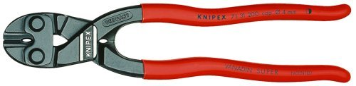 Bolt Cutter Action Lever Mini (Knipex 7131200 8-Inch Lever Action Mini-Bolt Cutter With Notch Model: 7131200 Tools & Home Improvement)
