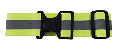 360 USA Reflective Belt Neon Yellow