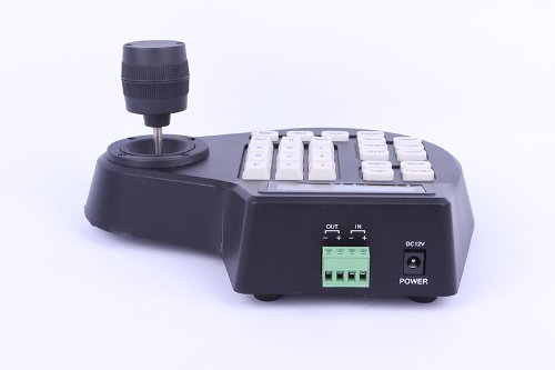 CCTV LCD Screen Display joystick keyboard controller for PTZ Cam Camera