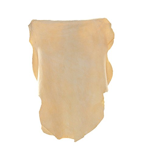 (NATURAL CHAMOIS Vehicle Cleaning Accessories,Leather Chamois Cloth Natural Shammy Drying Towel Dryer for Car Wash Care3 Available Sizes.L/M/S (L-Size 2 PACK))