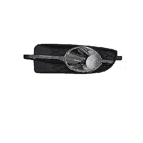 HEADLIGHTSDEPOT Fog Light Compatible with Buick Allure Lacrosse Passenger Side Front Fog Light Bezel And Chrome Molding