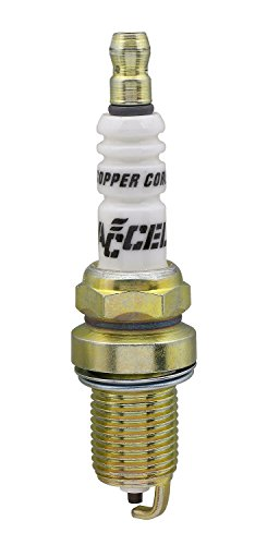 ACCEL 0786-4 Copper Core Spark Plug, (Pack of 4) ()