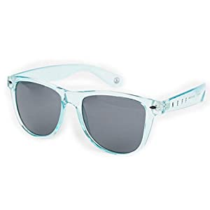 neff Unisex-Adults Daily Wayfarer Sunglasses Uva Uvb Protective, Mint Ice, One Size