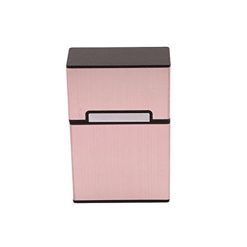 Portable Gold gold Tobacco Storage Rose Cigar 20 Box Cigarette Case Rose Case Holder HENGSONG dwqpOd
