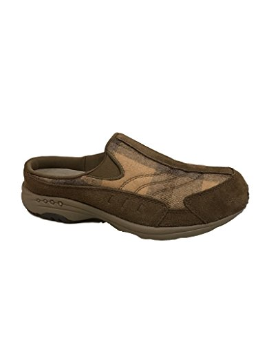 Easy Spirit Womens Traveltime Mule Taupe
