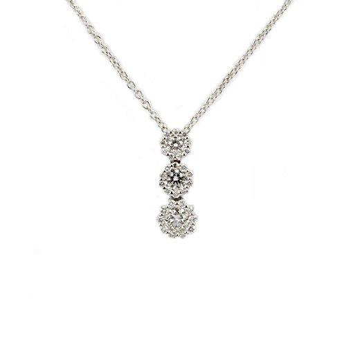 Collier Salvini Femme 20033210or blanc diamant