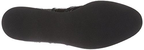 Giudecca JY1522-1 - Zapatillas de casa de cuero mujer negro - Schwarz (black/AG1)