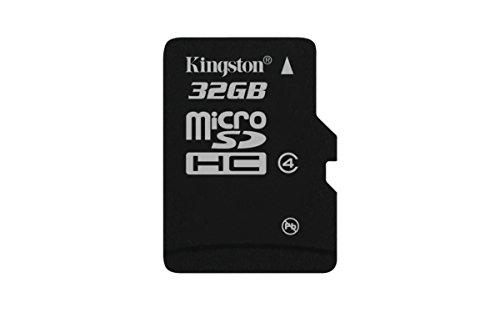 Kingston Digital 32GB microSDHC Class 4 Flash Memory Card...
