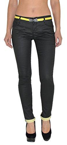 Jean femme skinny Jeans femmes noir pantalon en jean femme slim J94 J94