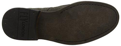 Fly London P143817007, Zapatos de Cordones Hombre Marrón (Militar 007)