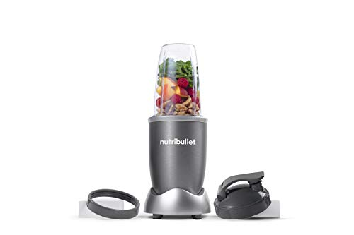 NutriBullet NBR-0601WM 600W Nutrient Extractor, 6pcs, Gray